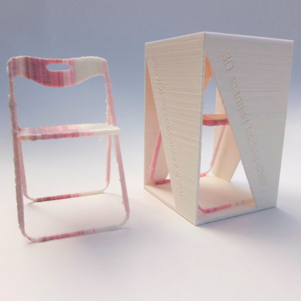 tom burtonwwod, 3d chair
