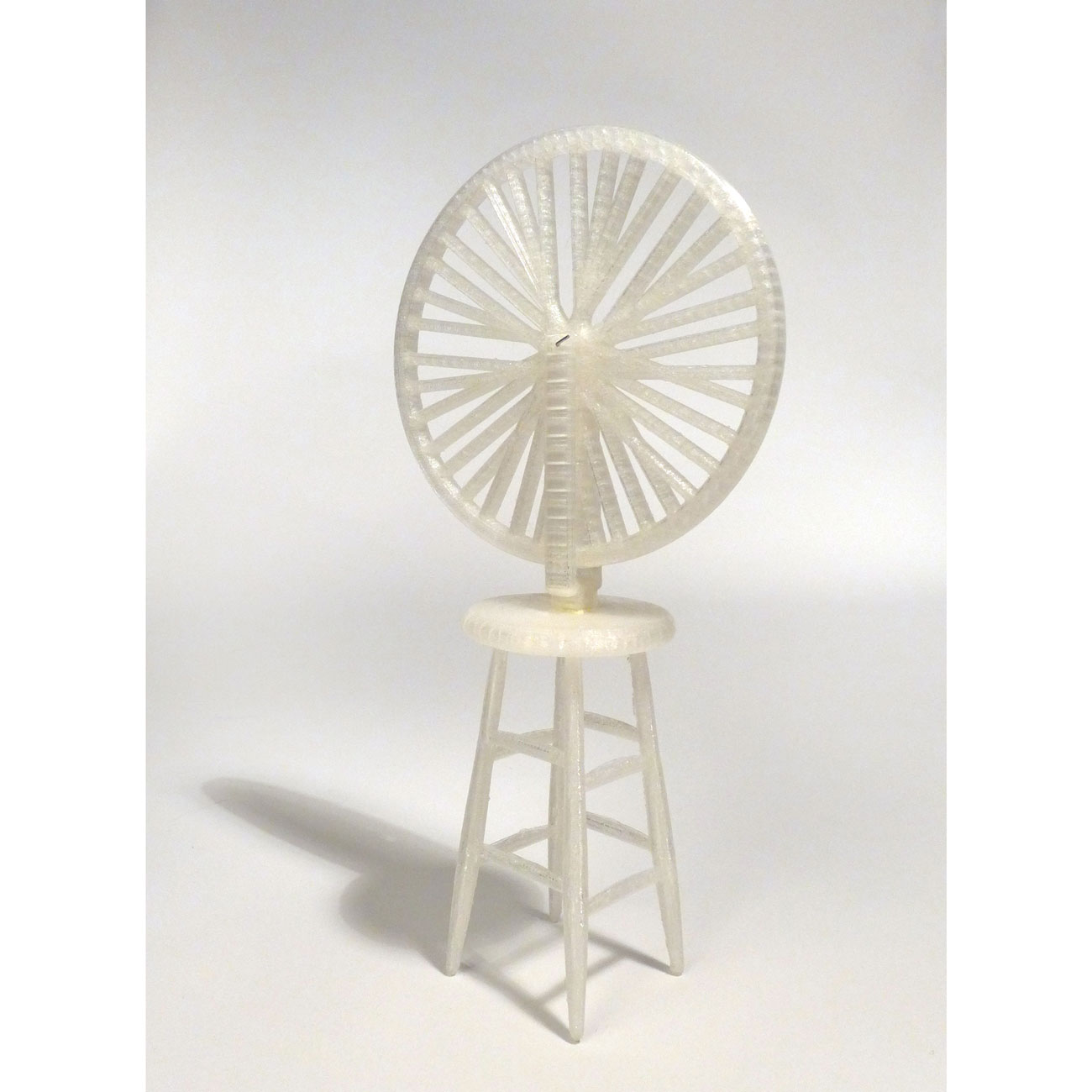 China Blue Duchamp Wheel