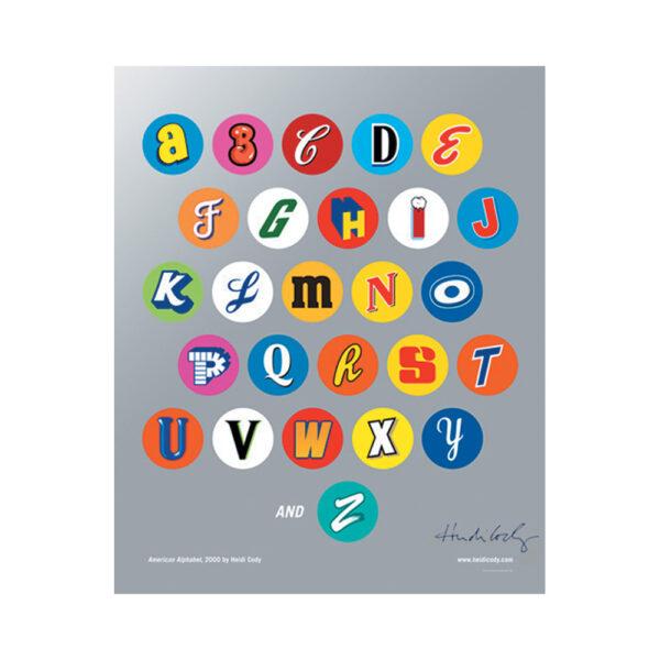 Heidi Cody, alphabet