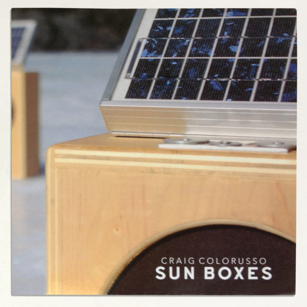 Craig Colorusso Sun Boxes 45