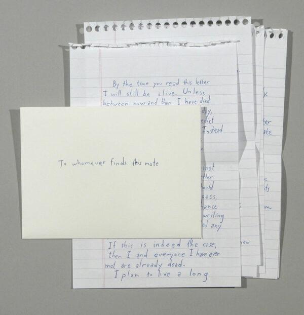 James Leonard Unsuicide Note