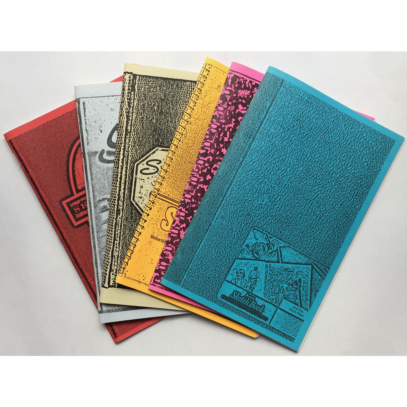 Matt Richards Volume Sketchbooks