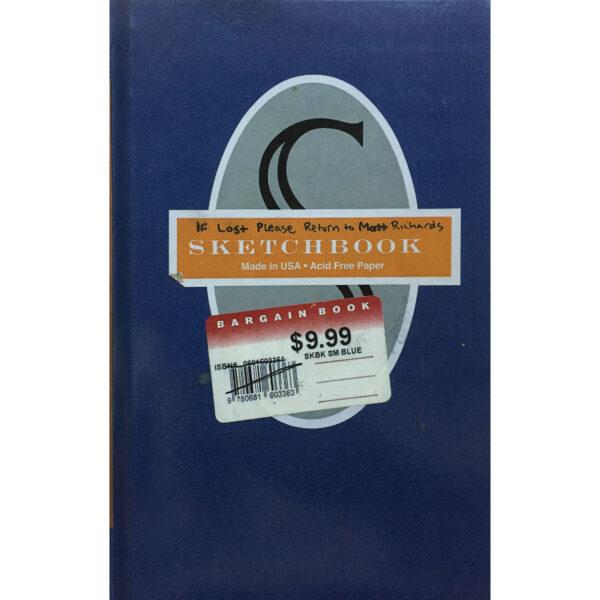 Matt Richards Blue Sketchbook